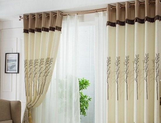 Gorden Rumah Minimalis modern untuk ruang tamu