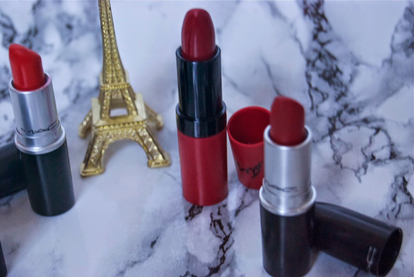 Favourite Red Toned Lipsticks