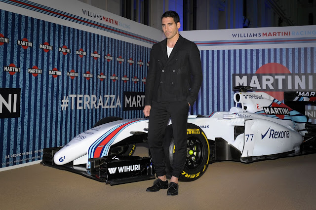 Williams Martini Racing, Martini, Madrid, Albert Adriá, F1, terraza, Terrazza Martini, summer, sun, lifestyle, Suits and Shirts, Fórmula 1,