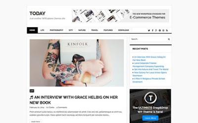 Today WordPress Theme
