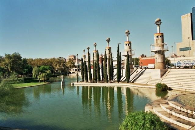 Parque España Industrial em Barcelona