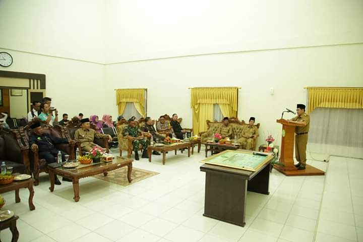 Wako AJB Hadiri Deklarasi WBK dan WBBM Lingkup Pengadilan Agama