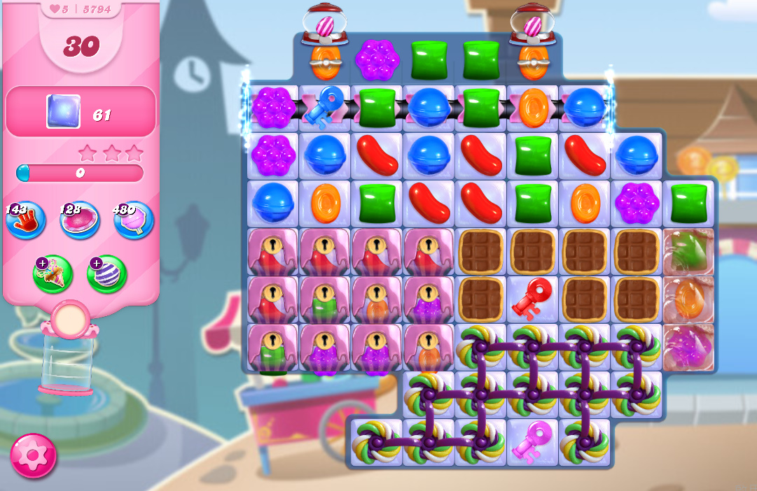 Candy Crush Saga level 5794
