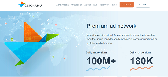 ClickADu Review, Pop Under Ad Network, high CPM