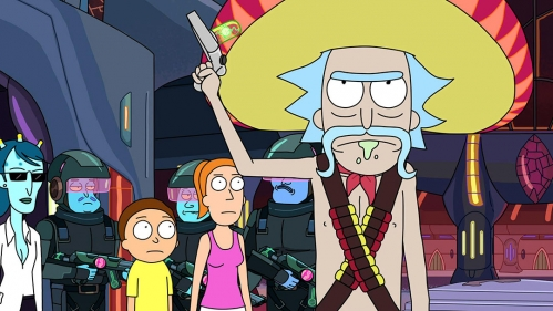 Idle Hands Rick Amp Morty The Complete Second Season