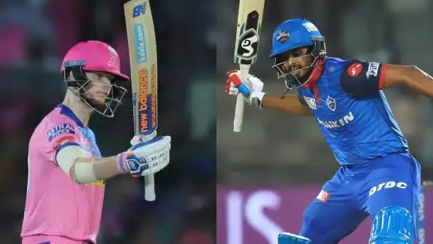 RR vs DC head to head team playing11 pitch report best pick