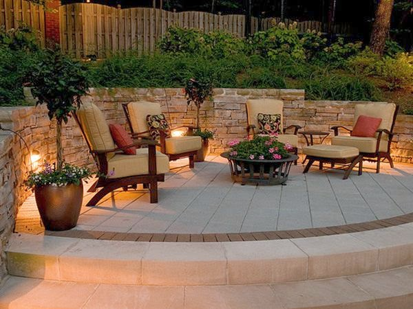 Great Patio Ideas - Side and backyard idea - Patio Design ... on Small Patio Design Ideas  id=42654