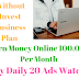 Earn Money Online Up to Rs.100,000 Per Month by Daily Watch 20 Ads No Any Investment Plan