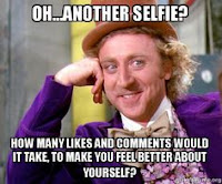 selfie%2Bmeme - How can he share that on facebook?!