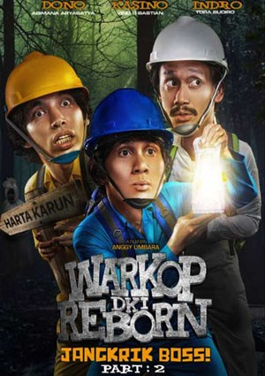Download Warkop DKI Reborn : Jangkrik Boss Part 2 (2017) Full Movie