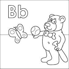 B Coloring Page 8