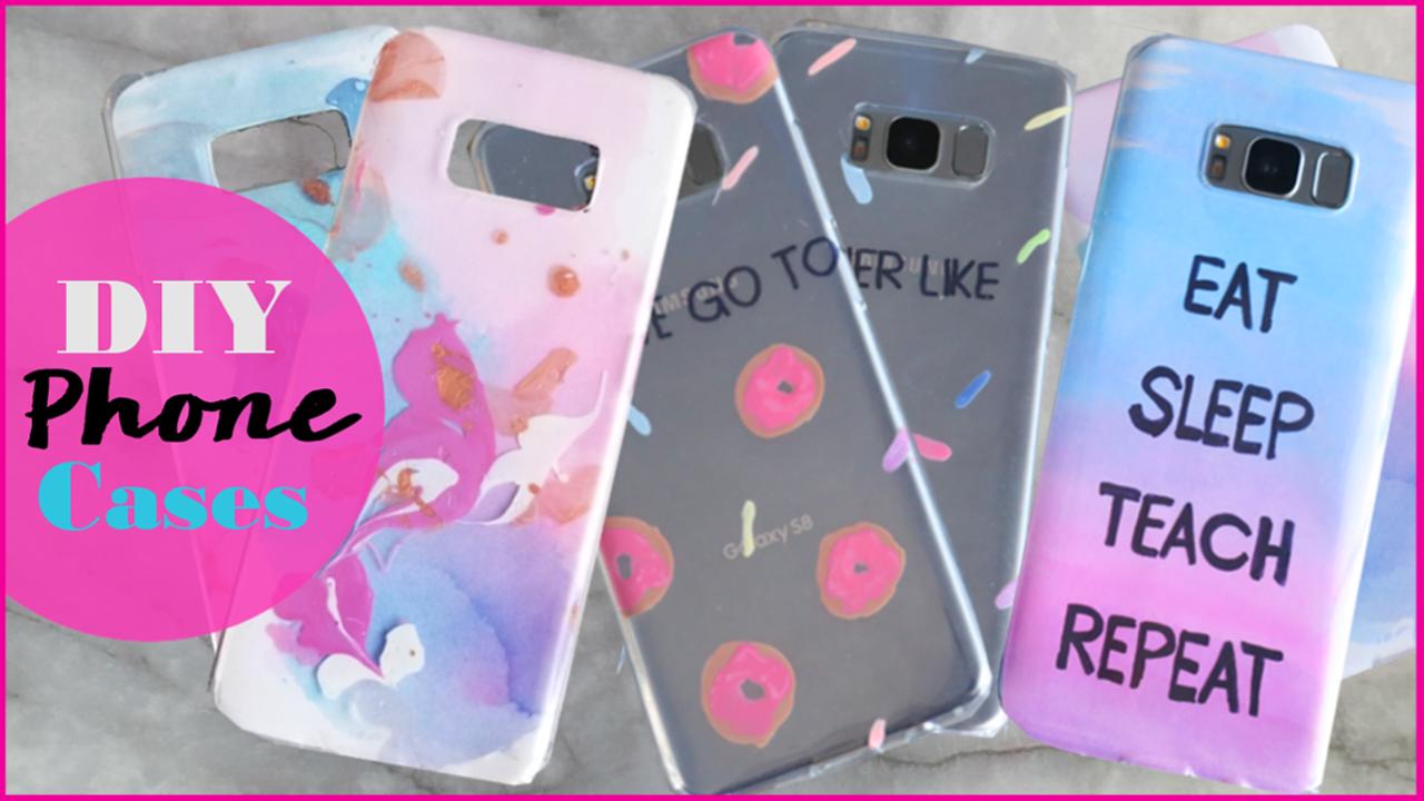 pretty nice 96955 58882 DIY   Easy Phone Cases 2017   Hiiyooitscat Beauty Diaries