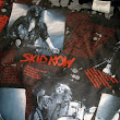 -NFS- Vintage SKID ROW 300 Gigs tees