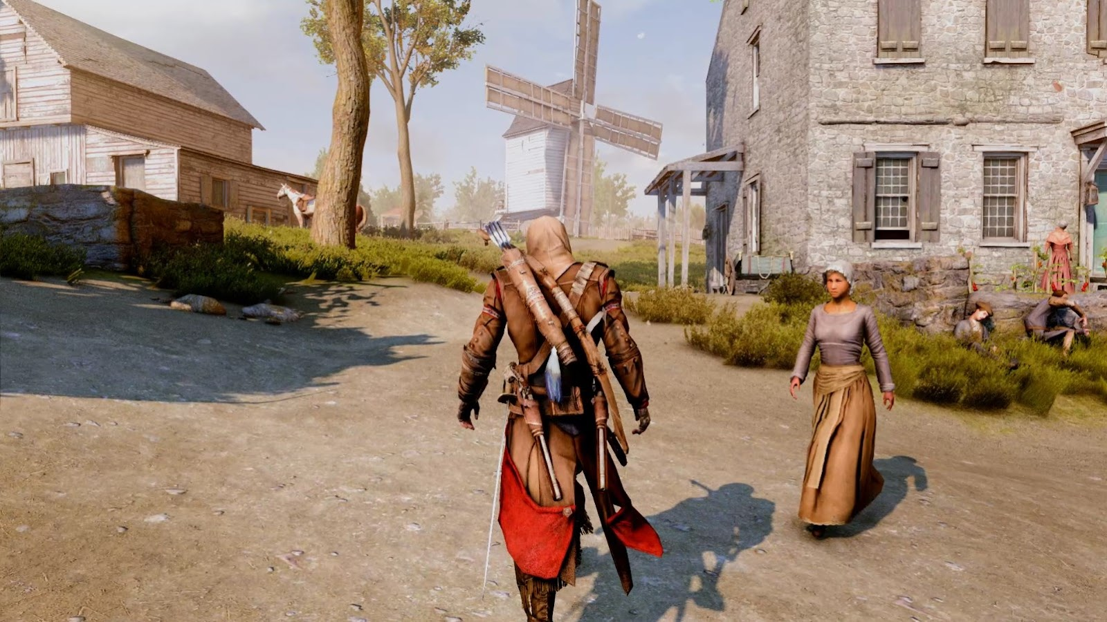 Assassin S Creed 3 Ultra Natural Realistic Graphics Mod Crynation Project Ktmx