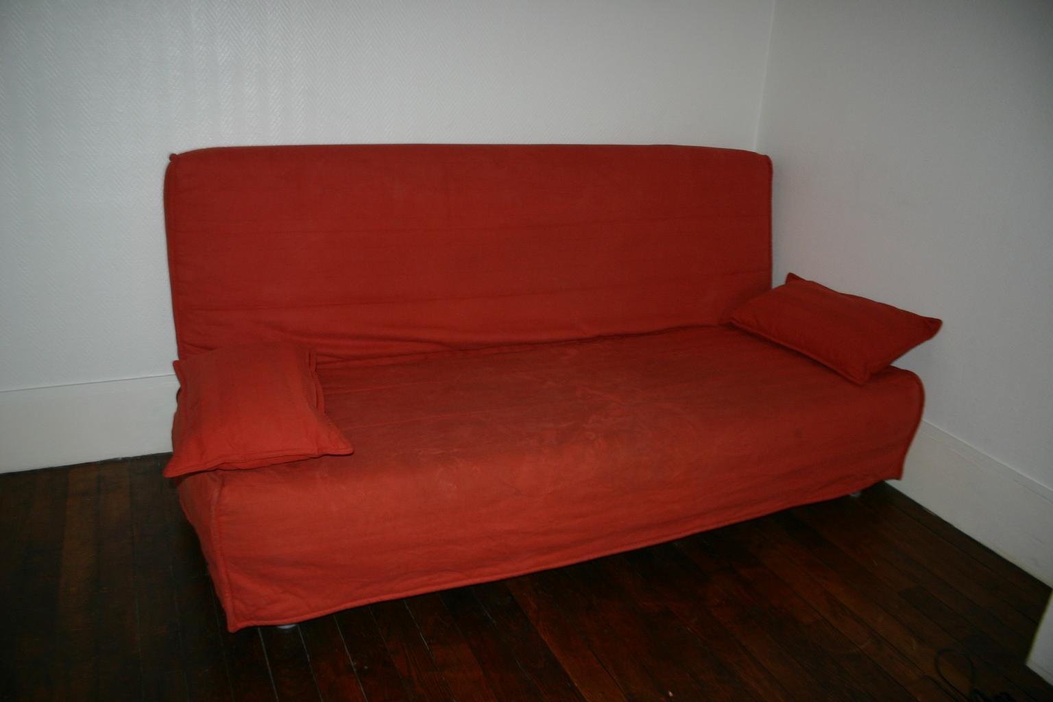 la brocante du 75019 canape lit convertible beddinge ikea. Black Bedroom Furniture Sets. Home Design Ideas