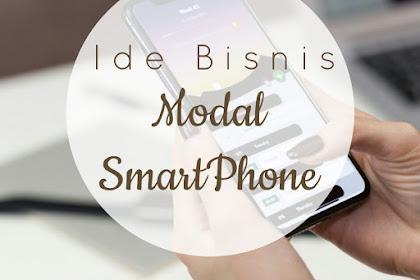 4 ide bisnis sampingan hanya menggunakan Smartphone