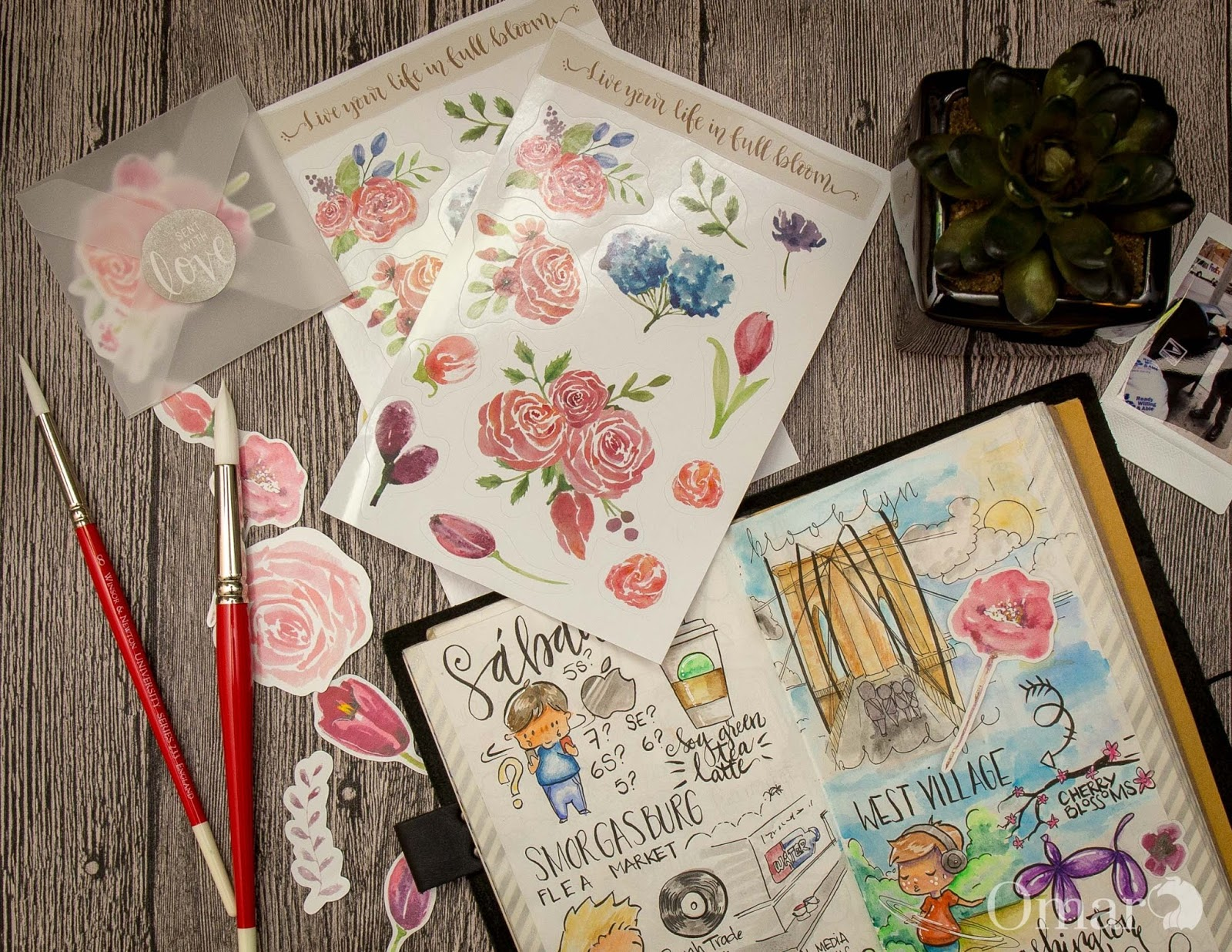 How to make stickers with your cricut