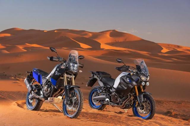 La Yamaha Tenere 700 muestra mas características off-road que su hermana 1200