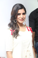 Samantha Ruth Prabhu Smiling Beauty in White Dress Launches VCare Clinic 15 June 2017 007.JPG