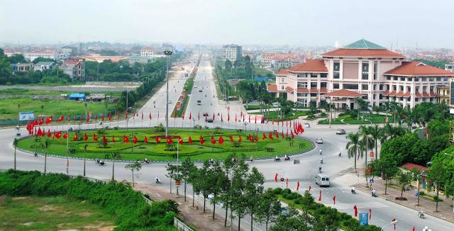 Giao lộ giao tại thành phố Bắc Ninh.