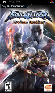 SoulCalibur: Broken Destiny PSP/PPSSPP ISO Download For Android
