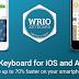 تطبيق WRIO Keyboard (+Emoji) v1.2.1 مدفوع كامل للاندرويد