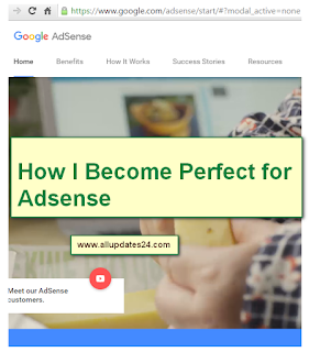 how to get adsense