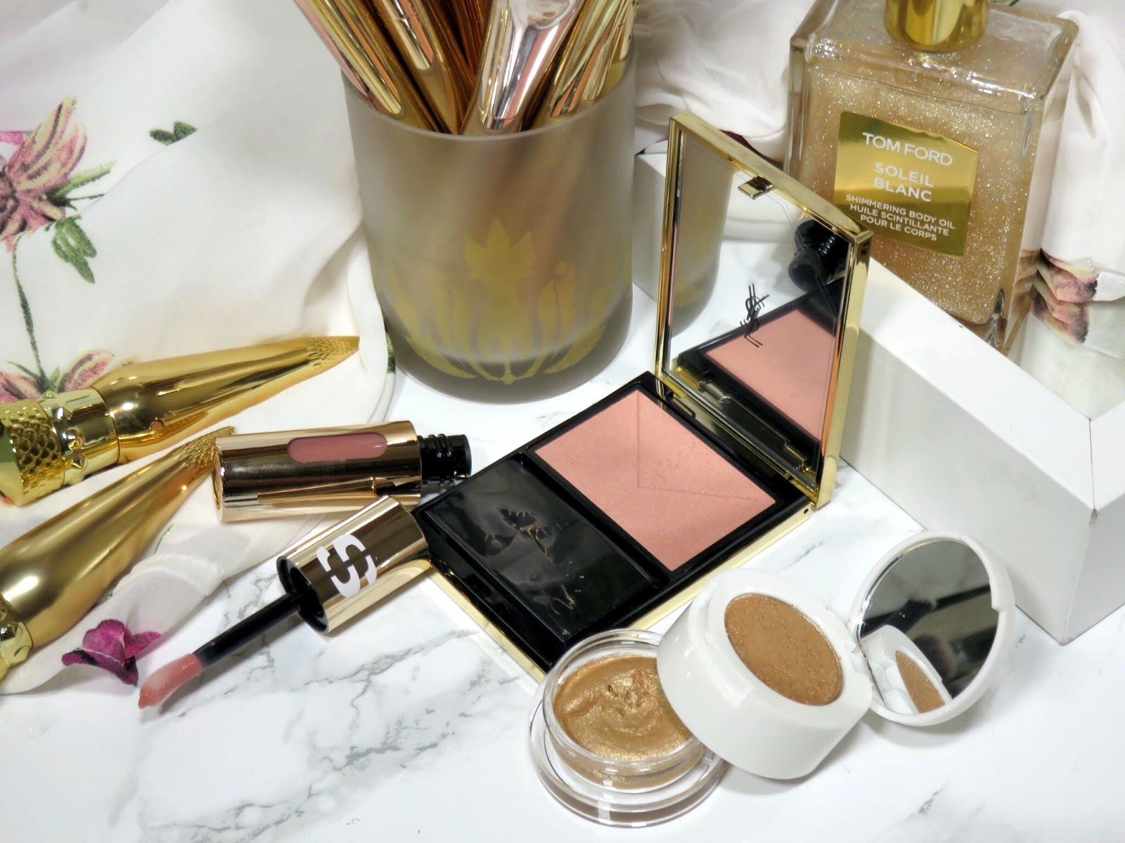 2dd5f04404 Review | Yves Saint Laurent Couture Blush in Nude Blouse | PRETTY IS ...