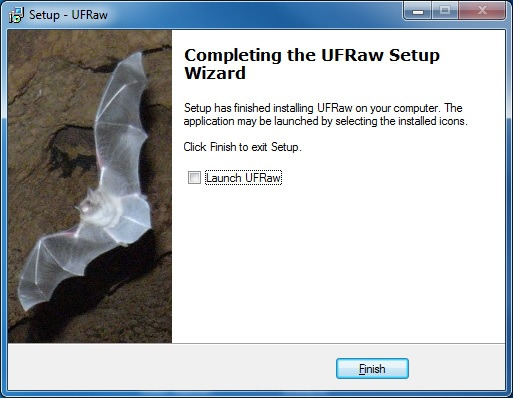 Installing UFRaw plug-in in Gimp ~ Elvis is still in the