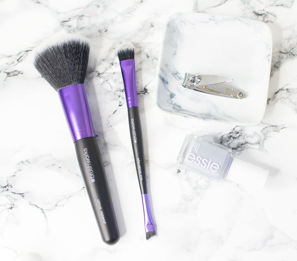 Invogue Brush Works Powder Brush and Eye Duo Brush Review