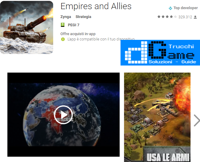 Trucchi Empires and Allies Mod Apk Android v1.28.958700