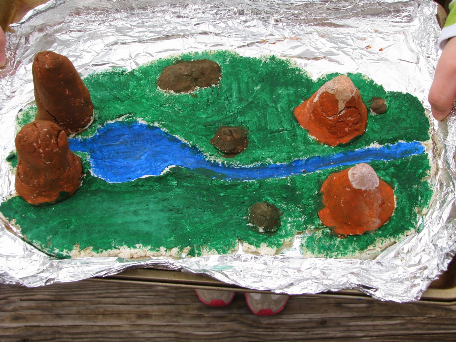 Bumbaugh Fun Ava S 2nd Grade Project On Landforms