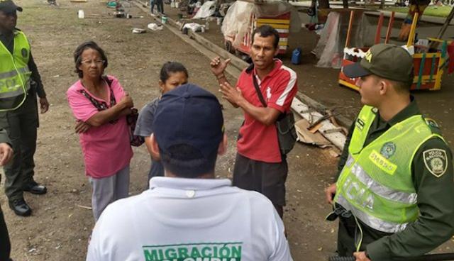 Más de 180 venezolanos fueron devueltos de Colombia por indocumentados