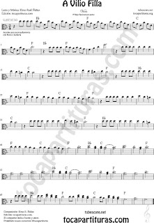 Viola Partitura de Sheet Music for Viola Music Sheet