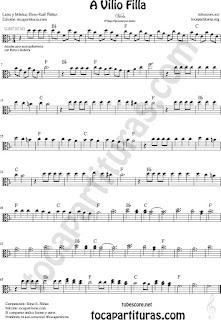 Viola Partitura de Sheet Music for Viola Music Sheet
