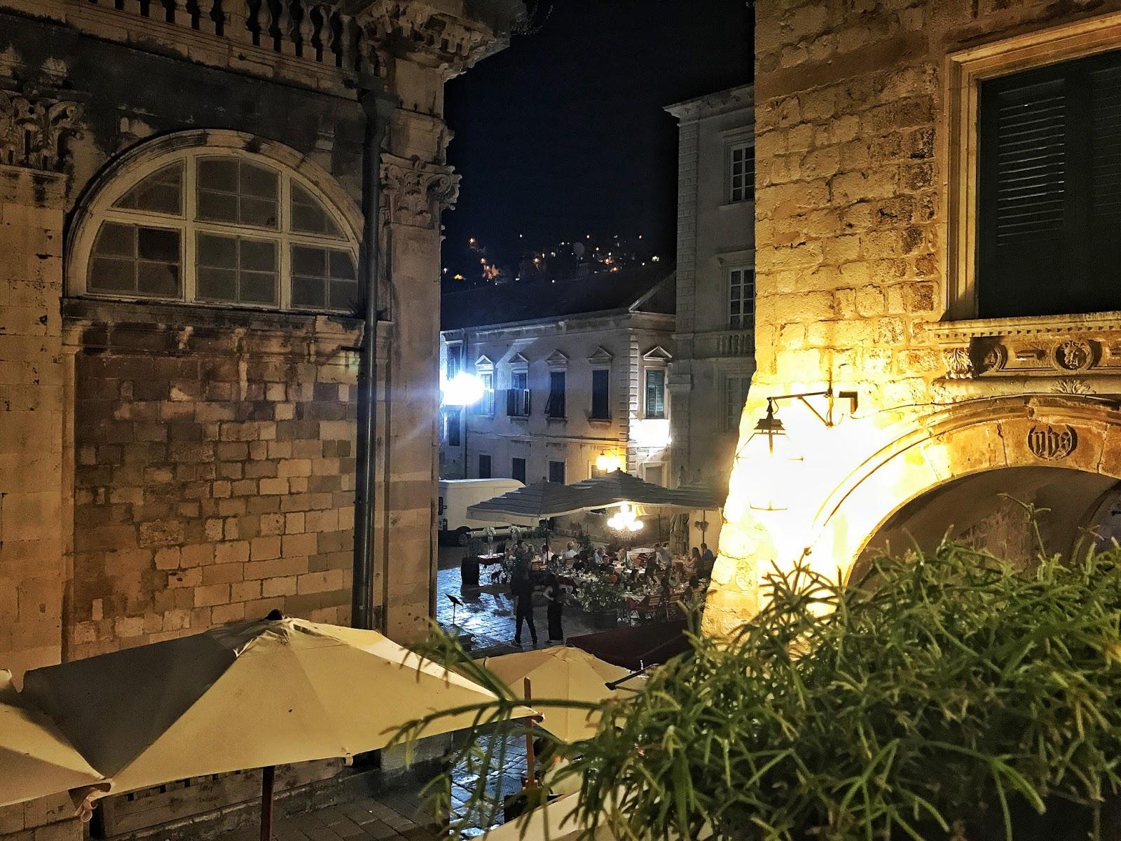 Villa Ruza restaurant view old town Dubrovnik