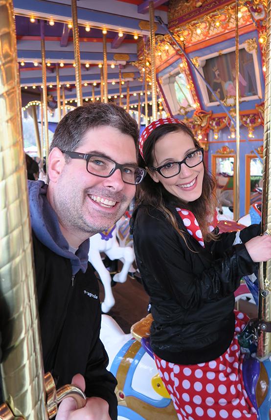 Rainy Days at Disneyland- Carousel