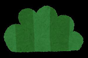 シンプルな草のイラスト1