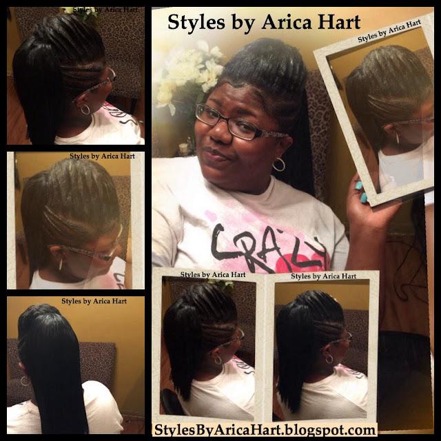 Lifted braid, hairstyles , styles by Arica Hart, Erica hart