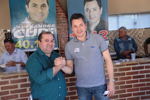 Dalton Moreira recebe o Deputado Federal Sérgio Souza
