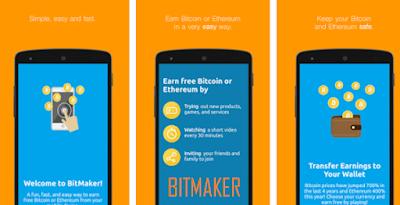 Cara Baru Menggunakan Aplikasi Bitmaker Di Android Biar Dapat Bitcoin Gratis