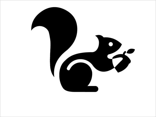 Contoh Desain Logo Negative Space - 34