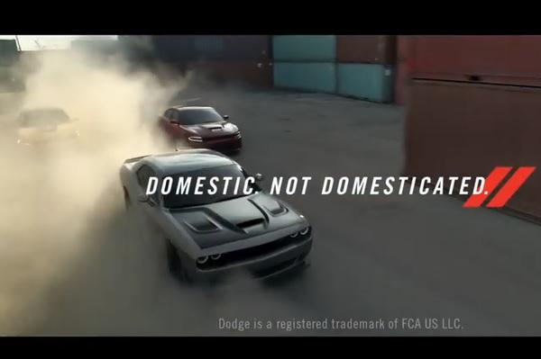 Dodge Vin Diesel publicidades
