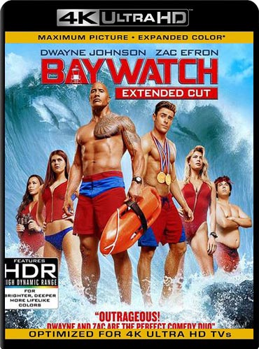 Baywatch (2017) UNRATED 4k UHD HDR​ Latino [GoogleDrive] SilvestreHD