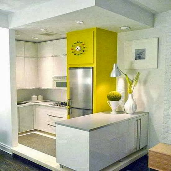 Gambar Kitchen Set Mini Bar Minimalis Small House Interior Design
