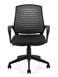 Gray Mesh Conference Chair