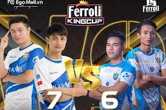 AoE Ferrori King Cup: BiBi Clup, Hà Nam, Nghệ An giữ vững phong độ