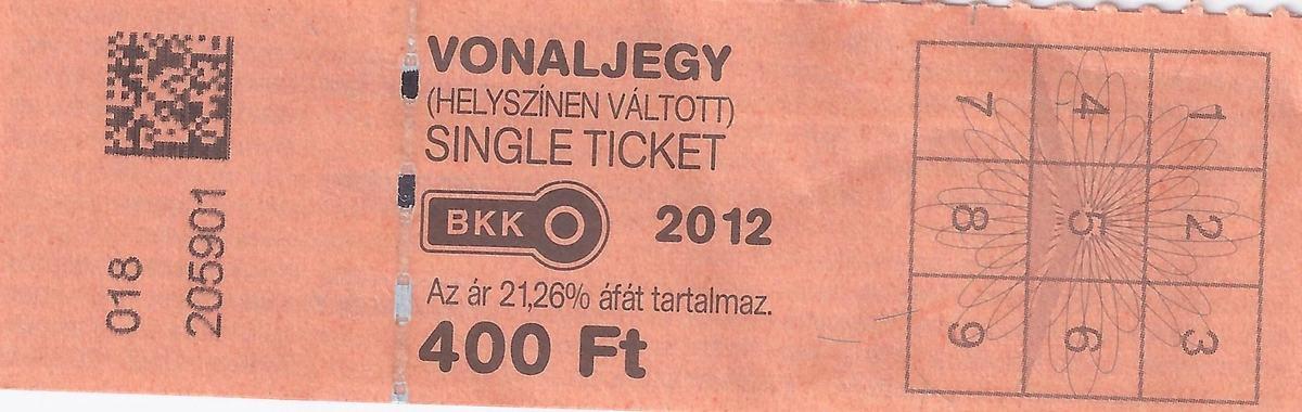 billete autobus de Budapest