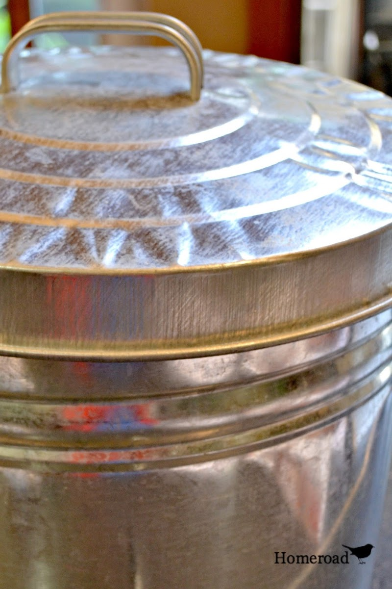 Patio Paint and How to Age Galvanized Steel