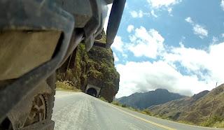 Vendo a estrada por um ângulo diferente.